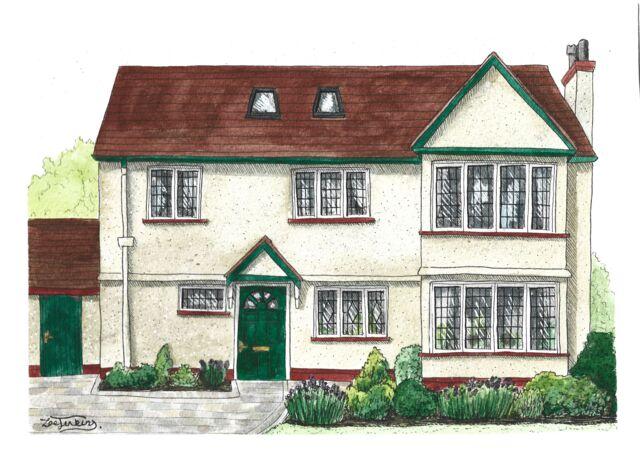 Watercolour House