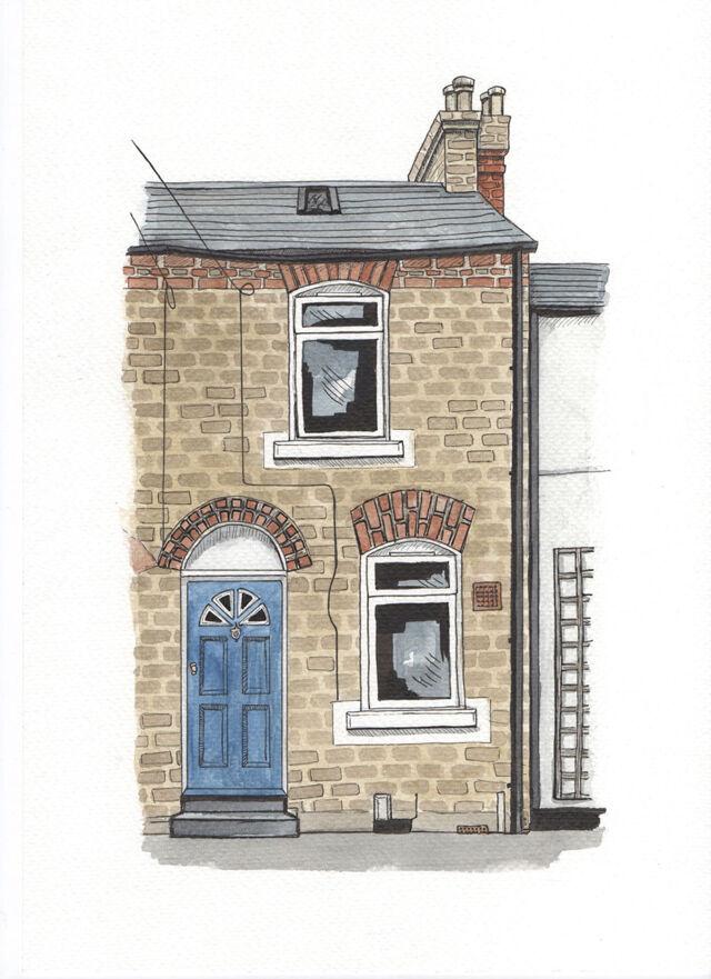 Original watercolour of your home